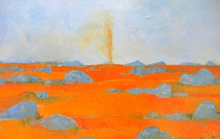 John Graham - You Yangs Landscape - Dust Devil'