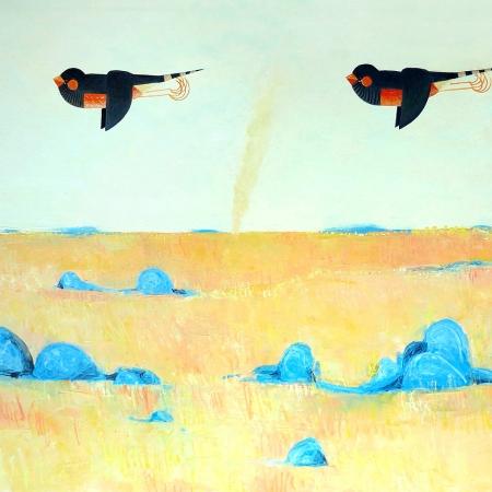 John Graham - 'Zebra Finch Landscape I'