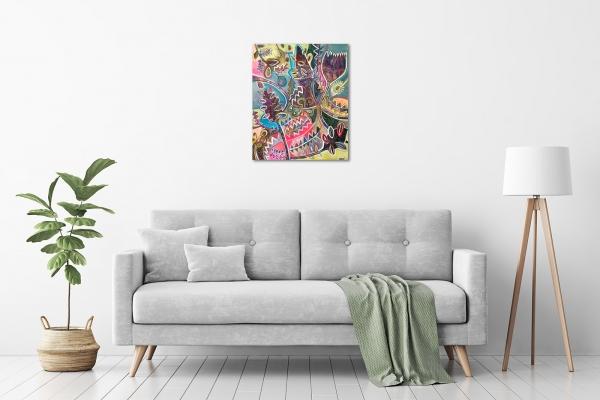 Karin Hotchkin - 'Banksia Bliss' in a room