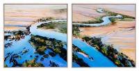 Sandy Weule - 'Flood Waters I and II'