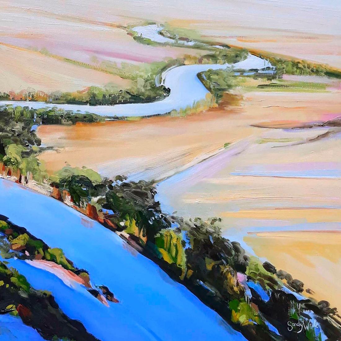 Sandy Weule - 'Flood Waters II'