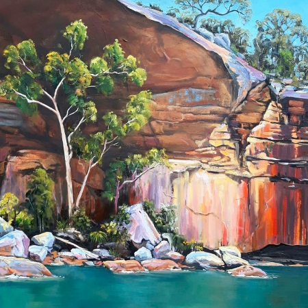 Sandy Weule - 'Hawkesbury River'