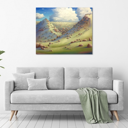 Shane Moad - 'Winter Lanscape -Toodyay WA' in a room