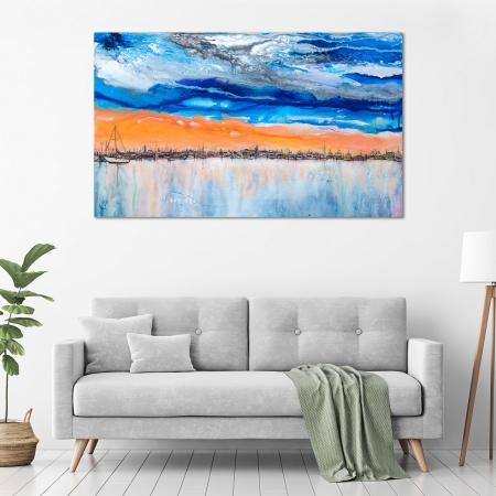 LMirella Prolongeau - 'Fremantle Boats' in a room