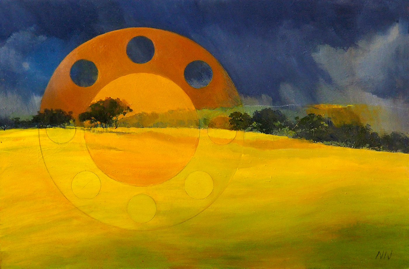 Nicola Neutze - 'Sky Mandala'