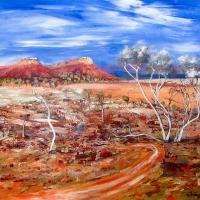 Carole Foster - 'Arid Land Near Coopers Creek'