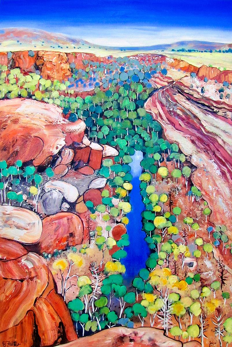 Carole Foster - 'Ord River'