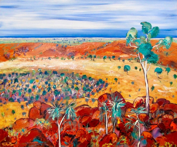Carole Foster - 'Wolfe Creek Crater'