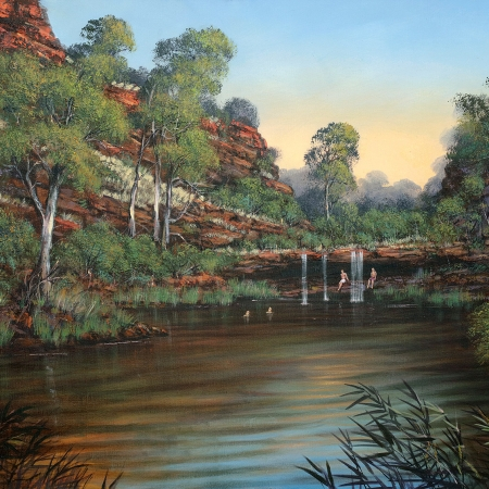 Colin Atkins - 'Circular Pool, Dales Gorge'