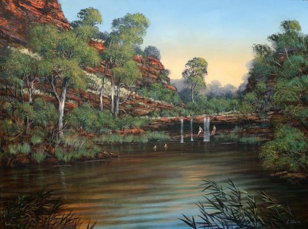 Colin Atkins - 'Circular Pool, Dales Gorge'