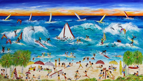Ida Ernhardt - 'Adventure Beach Holiday'