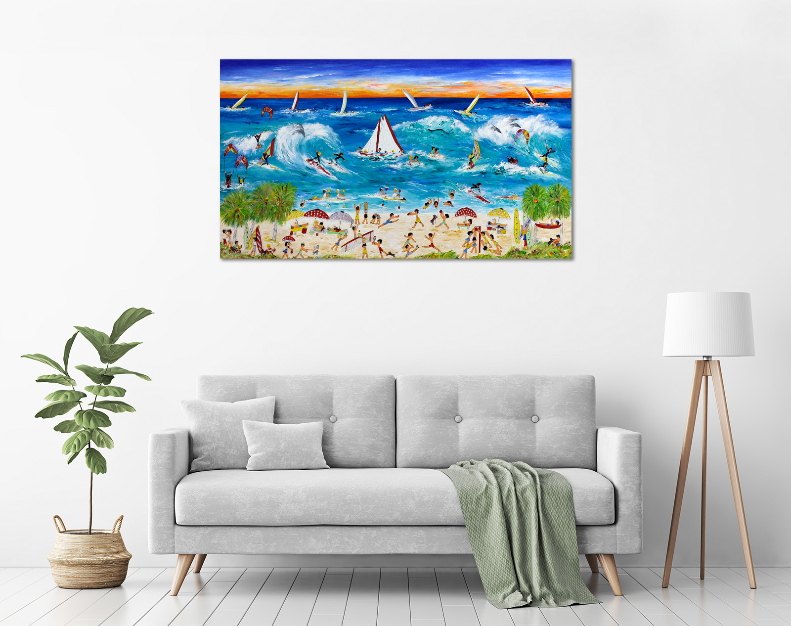 Ida Ernhardt - 'Adventure Beach Holiday' in a room