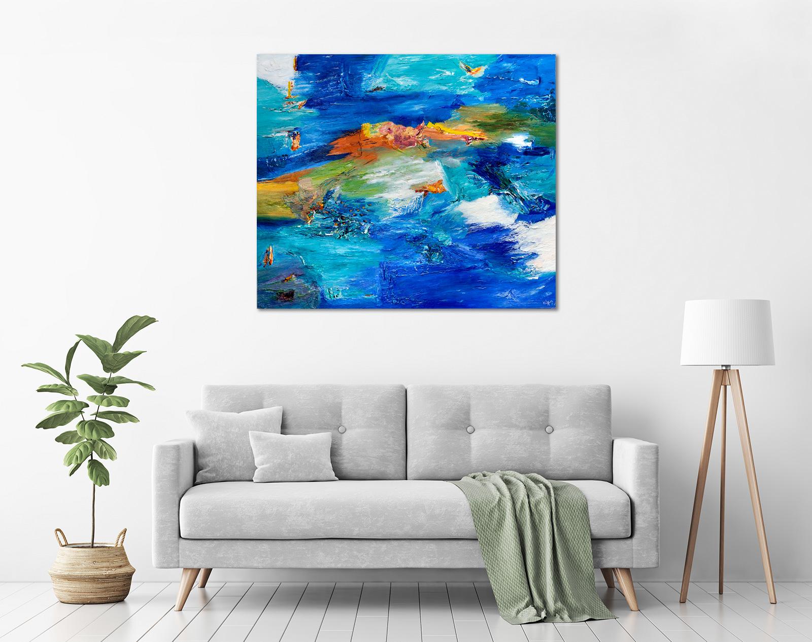 Ida Ernhardt - 'Unique Ocean Connection' in a room