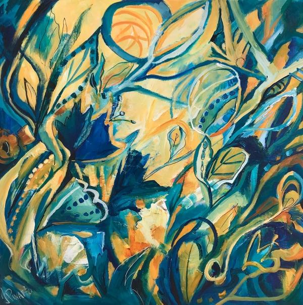 Ivana Pinaffo - 'Blue and Yellow'