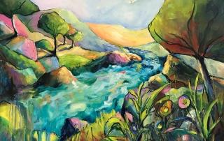 Ivana Pinaffo - 'Down The River Bank'
