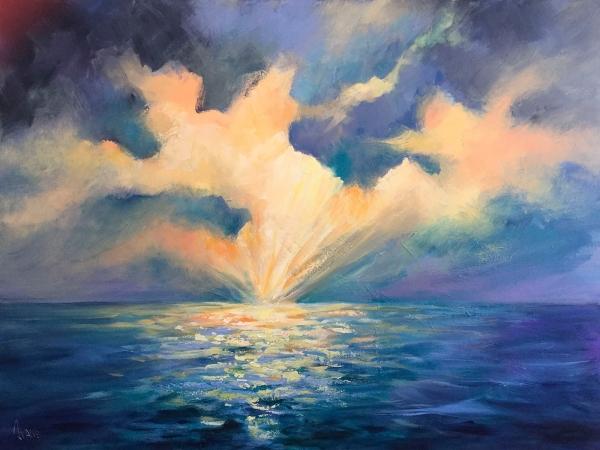 Ivana Pinaffo - 'The Dancing Clouds'