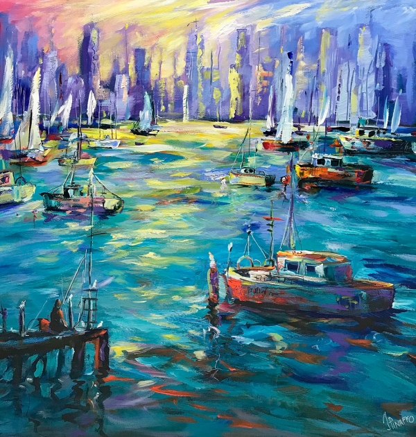 Ivana Pinaffo - 'Vibrant Williamstown'