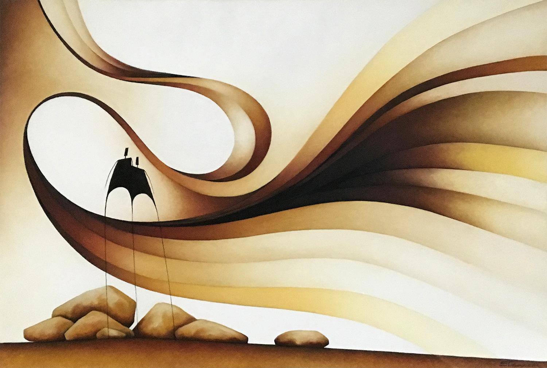 Stephen Gunner - 'Ochre Winds'
