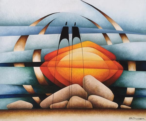 Stephen Gunner - 'Red Sunrise'