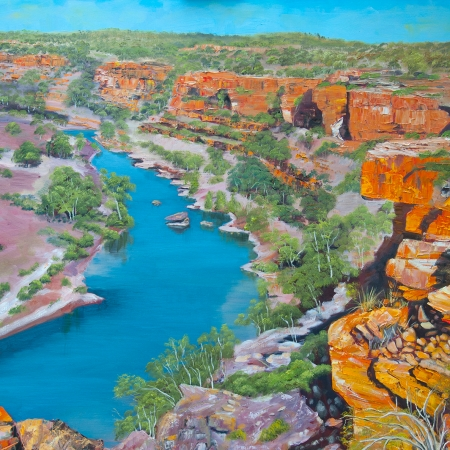 Murchison River II, Kalbarri National Park