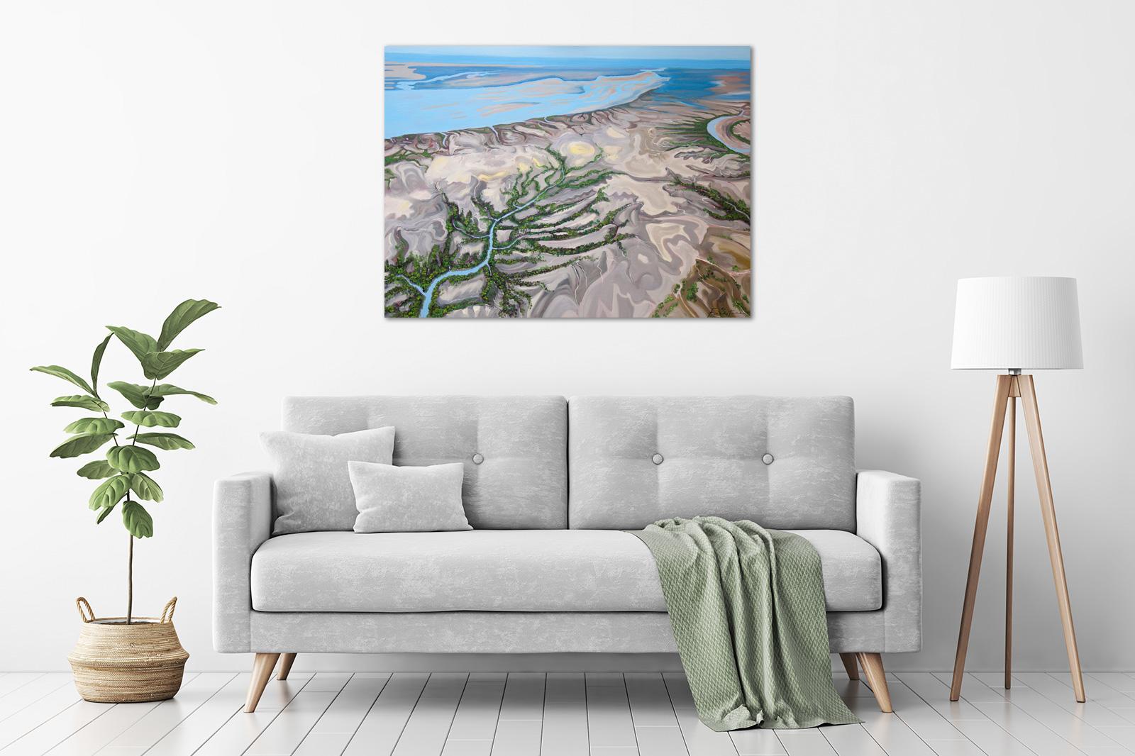 Composition II, Buccaneer Archipelago, The Kimberley in a room
