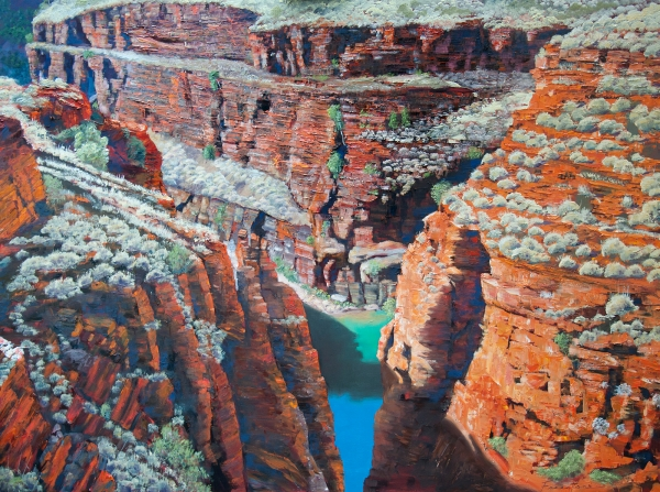 'Blue Green', Weano Gorge I, Karijini National Park
