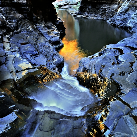 The End of Hancock Gorge, Karijini NP