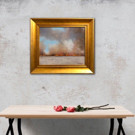 Stubble_Fire_Framed_in-a-room