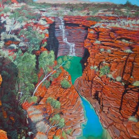 Joffre Falls, Joffre Gorge, Karijini