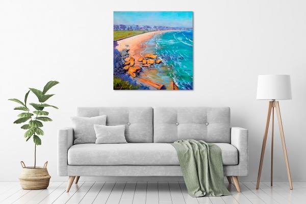 Bondi Beach Rocks in a room