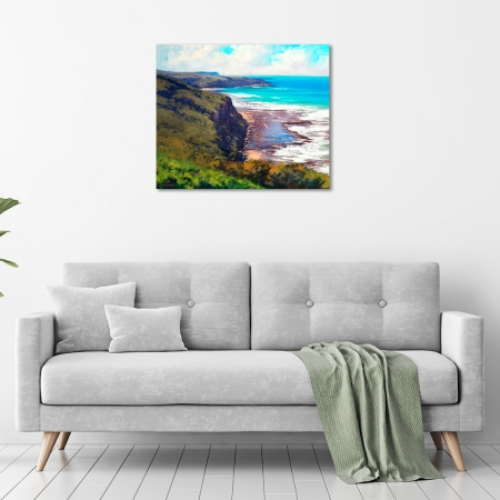 Coastal Cliffs Munmorah NSW in a room