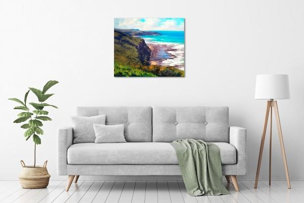 Coastal Cliffs Munmorah NSW in a room