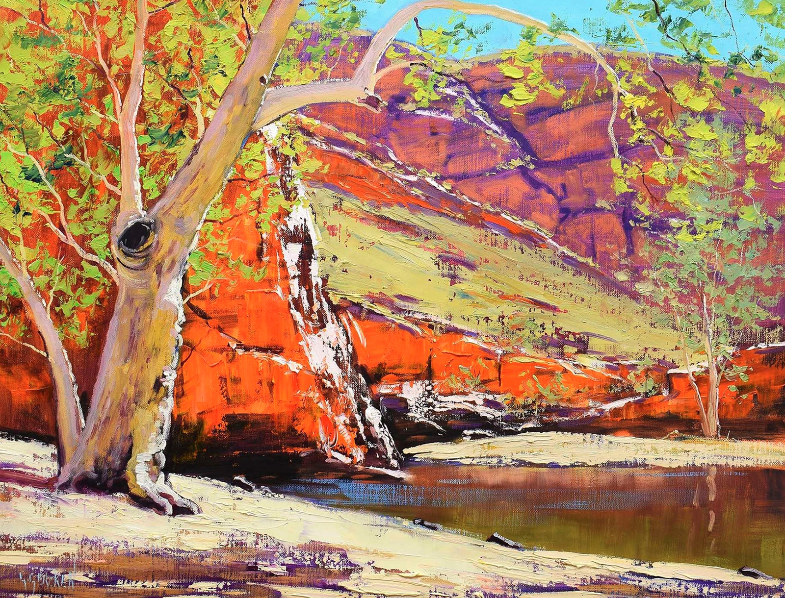 Ghost Gum, Alice Springs