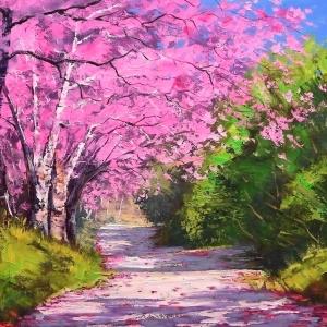 'Jacaranda Trees' by Graham Gercken
