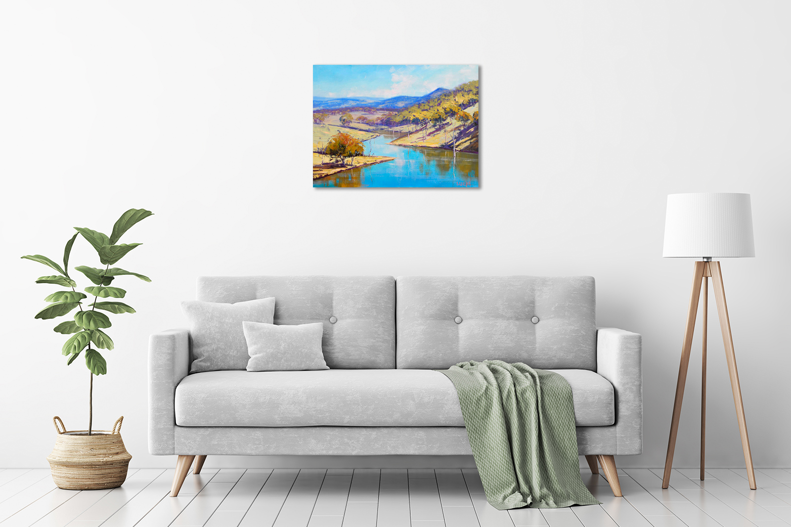 Lake Windermere, NSW in a room