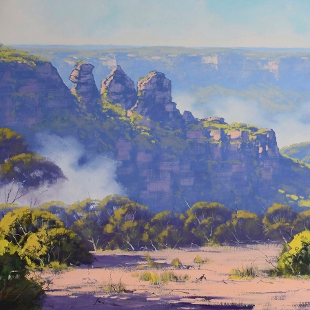 Rising Mist, Three Sisters, Katoomba, NSW