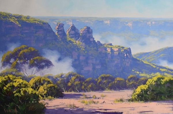 Rising Mist, Three Sisters, Katoomba, NSW