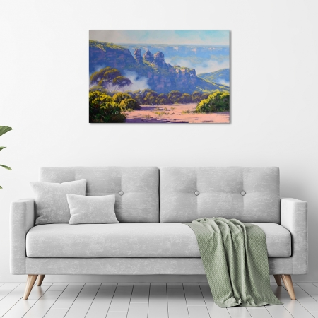 Rising Mist, Three Sisters, Katoomba, NSW in a room