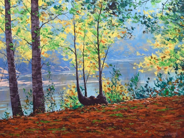 River through the Trees, Tumut