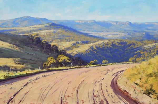Road through the Kanimbla Valley, NSW