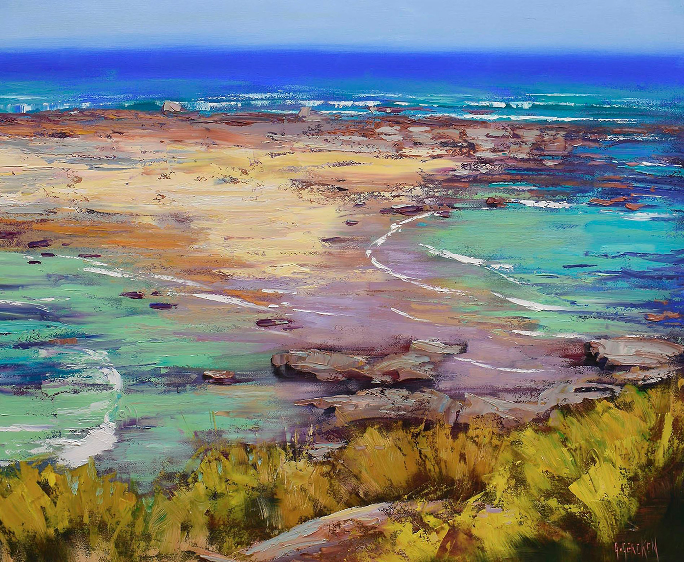 Rocks and Surf, Norah Head