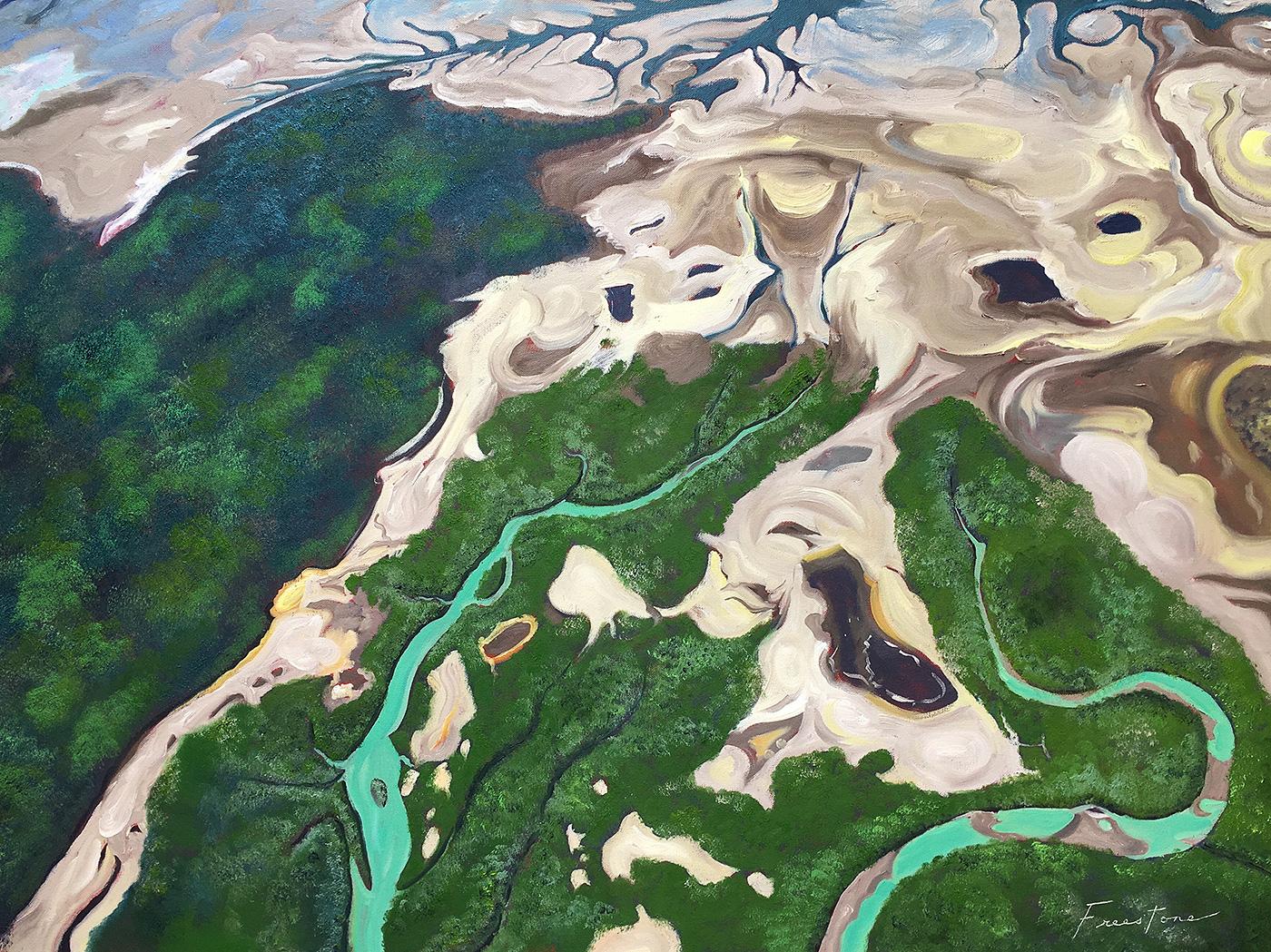 Composition I, Buccaneer Archipelago