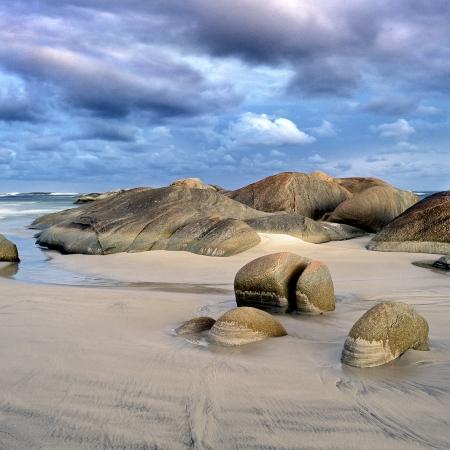 Rocks on Injidup Beach, Yallingup