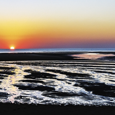 Low Tide Sunset, Cape Leveque
