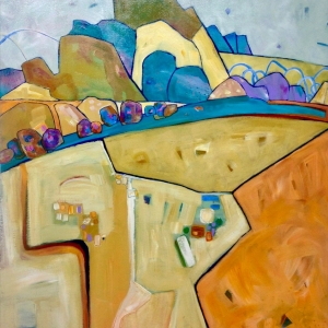 'Colours and Shapes of the Northern Territory' by Kay Hampton