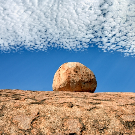 Lone Marble, Devil's Marbles, Central Australia