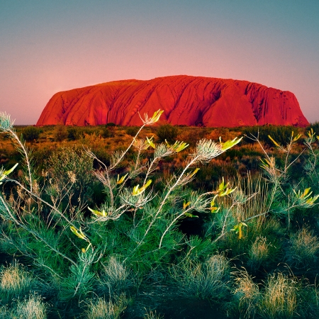 Uluru, Early Evening, Central Australia