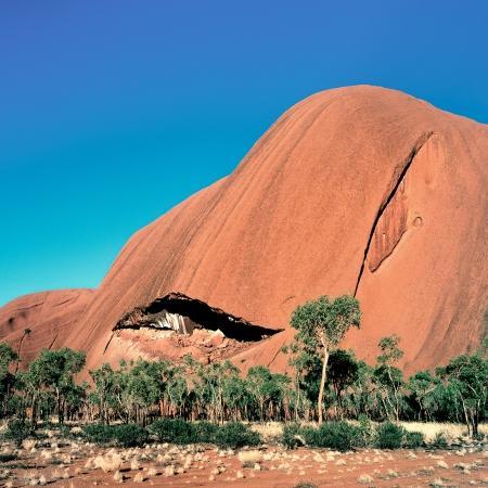 The Smile, Uluru, Central Australia