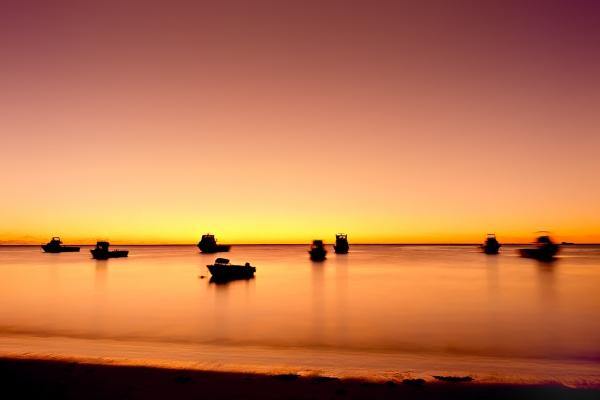 Fishing Boats at Sunset, Cervantes WA