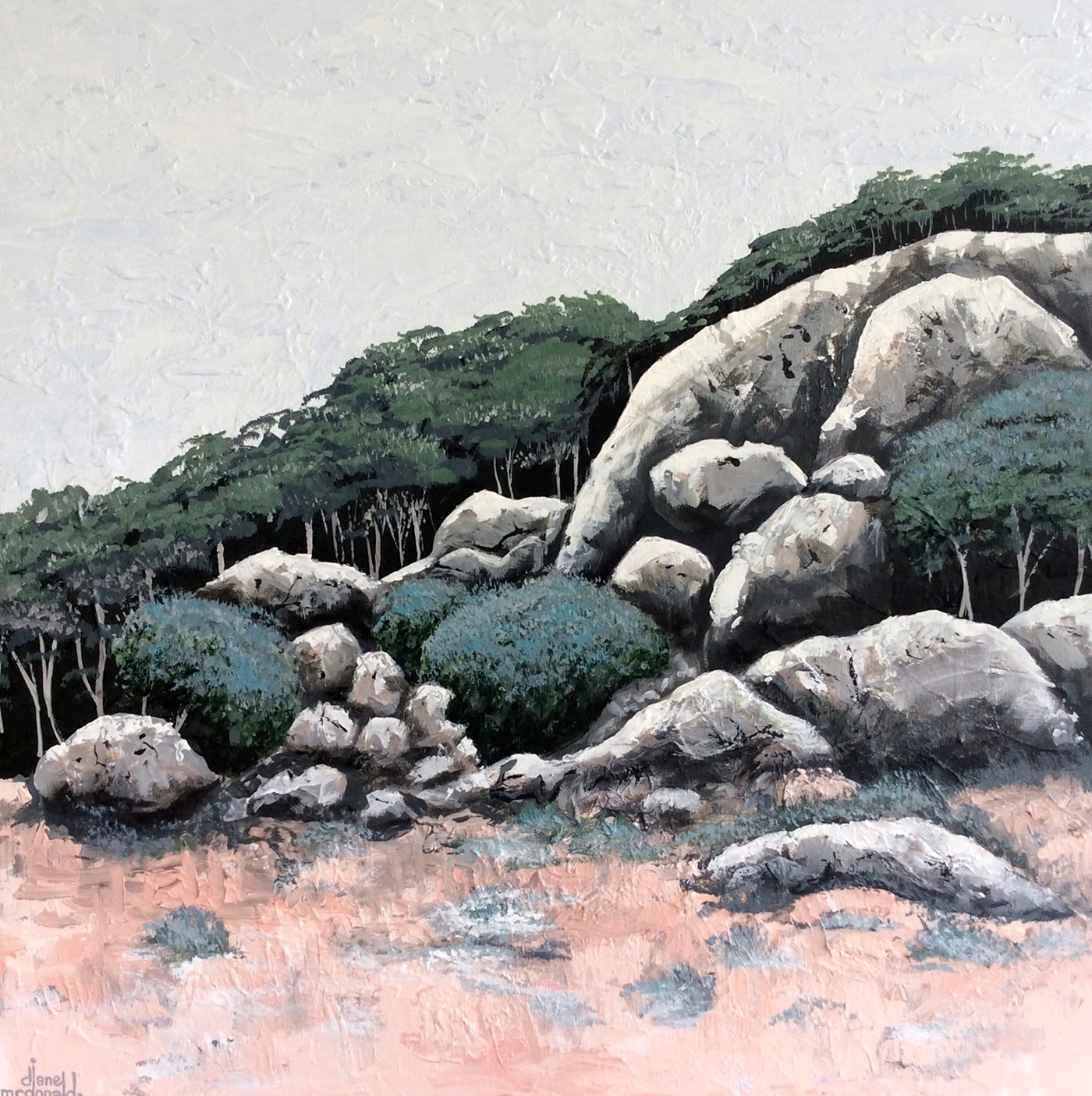 Lost Among the Boulders